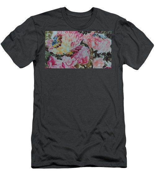 Peoney20161229_9 Men's T-Shirt (Athletic Fit)