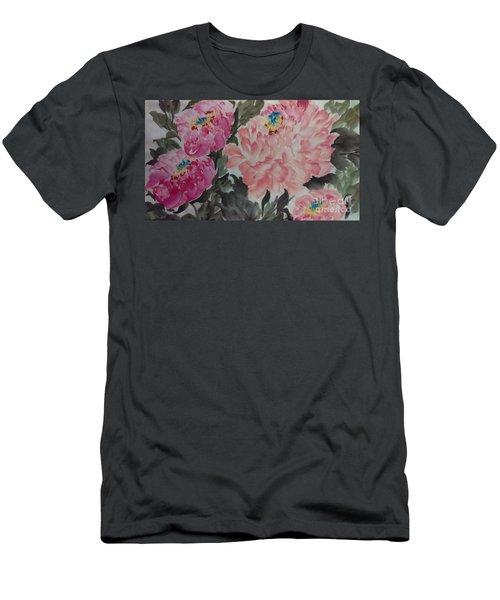 Peoney20161230_622 Men's T-Shirt (Athletic Fit)