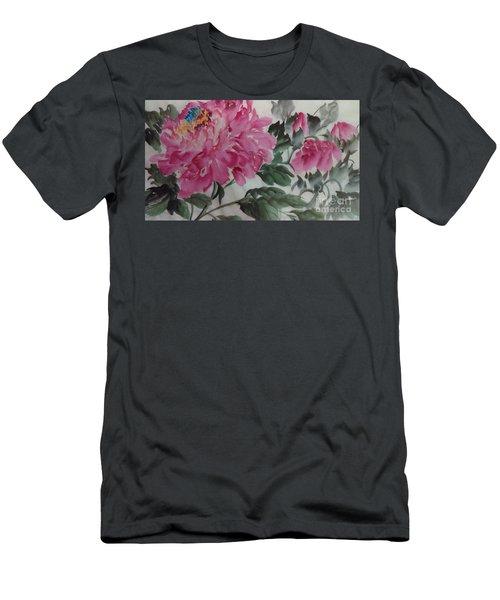 Peoney20161230_623 Men's T-Shirt (Athletic Fit)