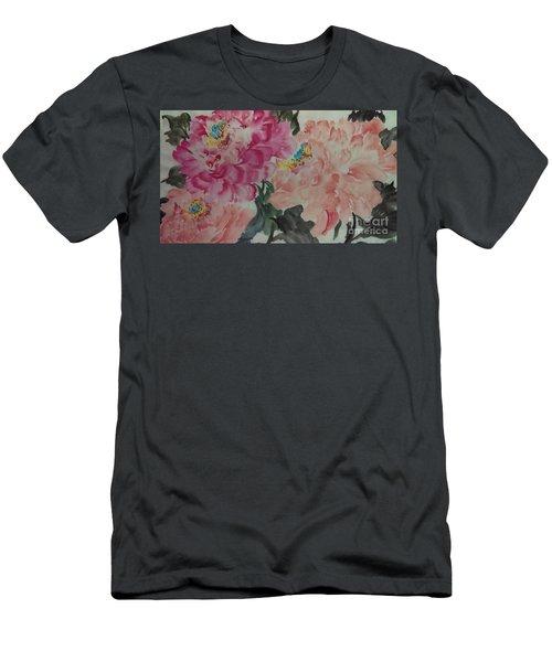 Peoney20161230_6246 Men's T-Shirt (Athletic Fit)