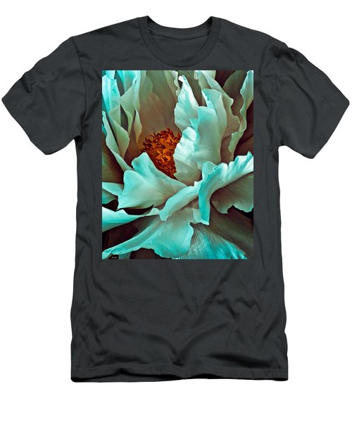 Peony Flower Men's T-Shirt (Athletic Fit)