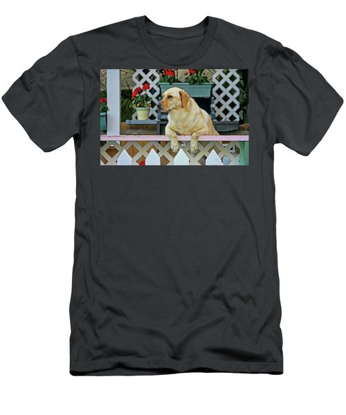 People Watching Men's T-Shirt (Athletic Fit)