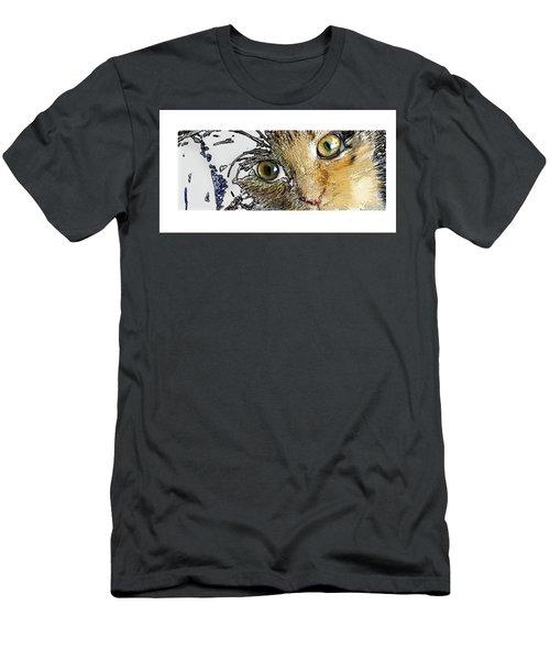 Pepper Eyes Men's T-Shirt (Athletic Fit)