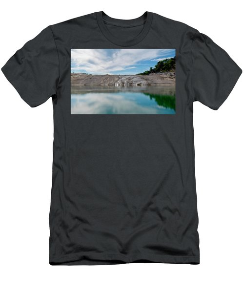 Perdernales Falls II Men's T-Shirt (Athletic Fit)