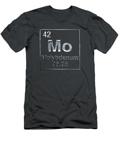 Periodic Table Of Elements - Molybdenum - Mo Men's T-Shirt (Athletic Fit)