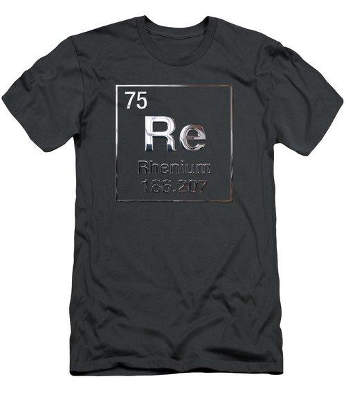 Periodic Table Of Elements - Rhenium Men's T-Shirt (Athletic Fit)