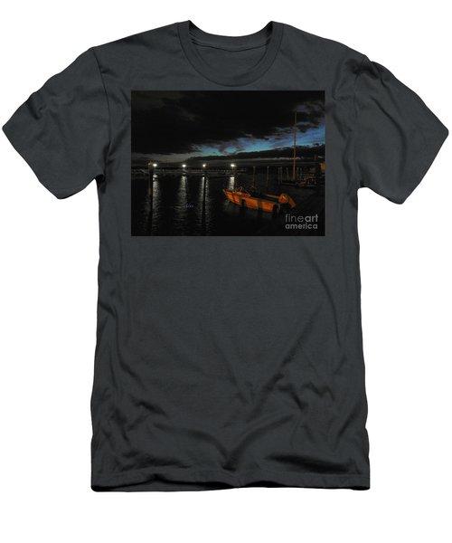 Perkins Pier Sunset Men's T-Shirt (Athletic Fit)
