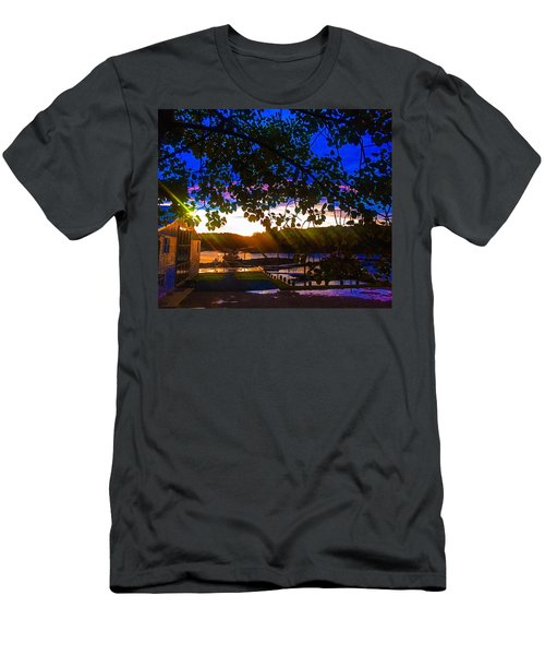 Permanently Closed 717 Men's T-Shirt (Athletic Fit)