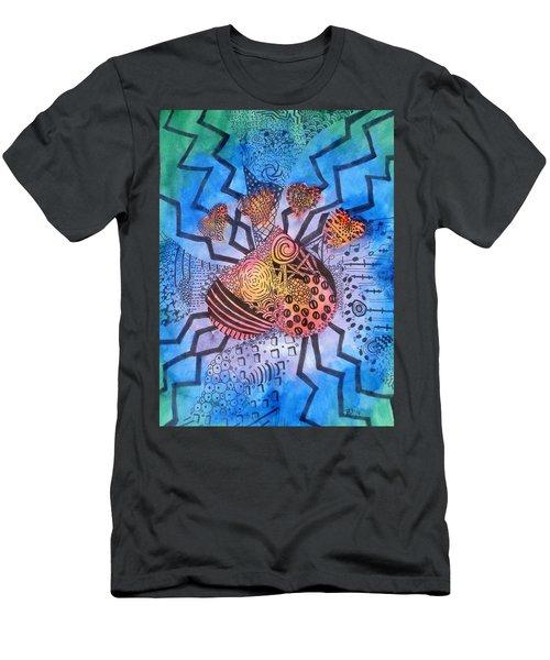 Pet Love Men's T-Shirt (Slim Fit)