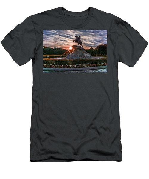 Peter Rides At Dawn Men's T-Shirt (Athletic Fit)