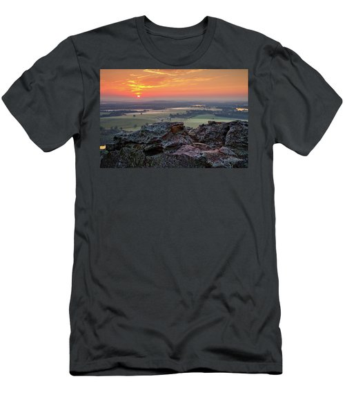 Petit Jean Sunrise Men's T-Shirt (Athletic Fit)
