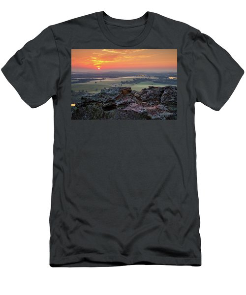 Petit Jean Sunrise Men's T-Shirt (Athletic Fit)