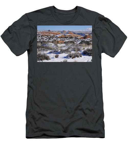 Petrified Dunes At Arches National Park Men's T-Shirt (Athletic Fit)