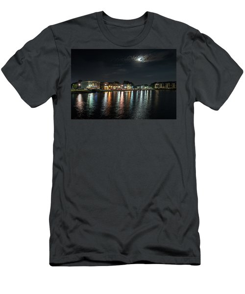 Pewaukee At Night Men's T-Shirt (Athletic Fit)