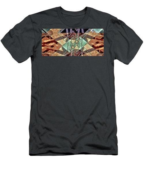 Men's T-Shirt (Slim Fit) featuring the digital art Phasmids by Ron Bissett