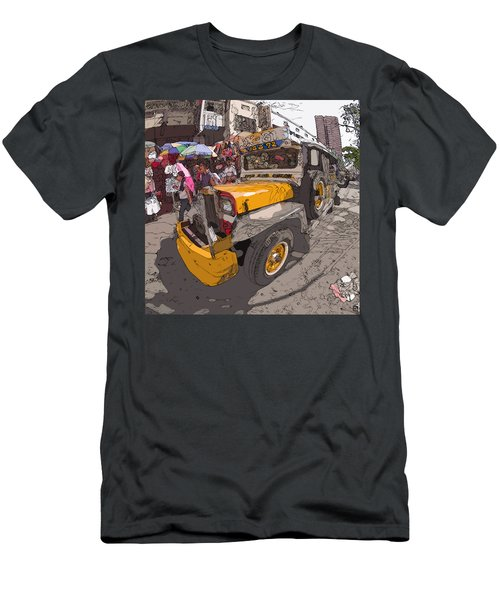 Philippines 1261 Jeepney Men's T-Shirt (Athletic Fit)