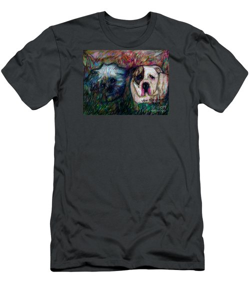 Phoebe And Ace Men's T-Shirt (Athletic Fit)