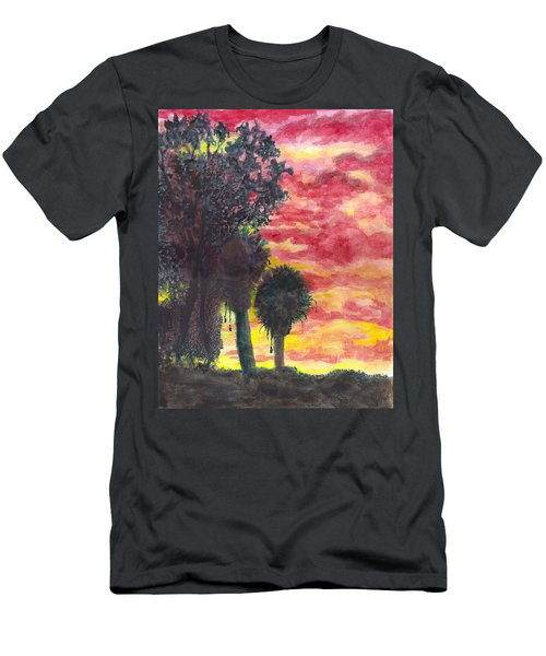 Phoenix Sunset Men's T-Shirt (Slim Fit) by Eric Samuelson
