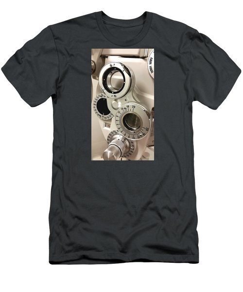 Phoropter Men's T-Shirt (Slim Fit) by Keith Hawley