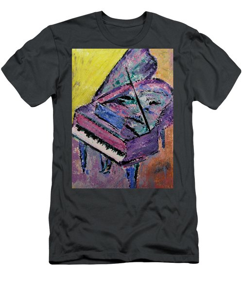 Piano Pink Men's T-Shirt (Athletic Fit)
