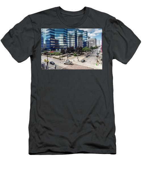 Pick-up Truck In The Itty-bitty-city Men's T-Shirt (Athletic Fit)