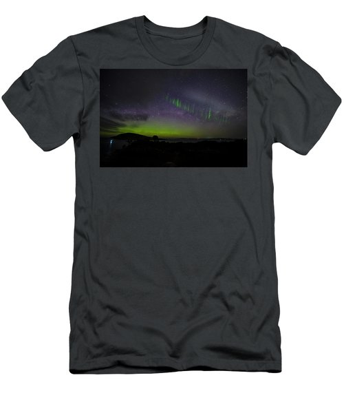 Men's T-Shirt (Slim Fit) featuring the photograph Picket Fences by Odille Esmonde-Morgan