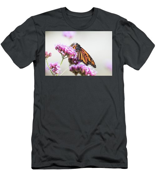 Men's T-Shirt (Athletic Fit) featuring the photograph Picking Flowers by Brian Hale