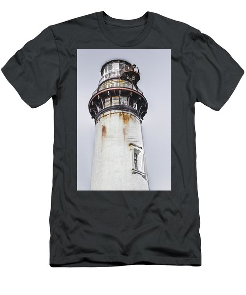 Pigeon Point Light Station Men's T-Shirt (Athletic Fit)