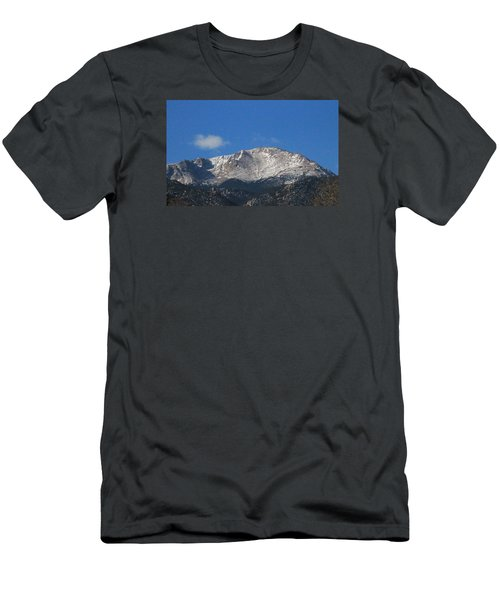 Pikes Peak Men's T-Shirt (Slim Fit) by Christopher Kirby