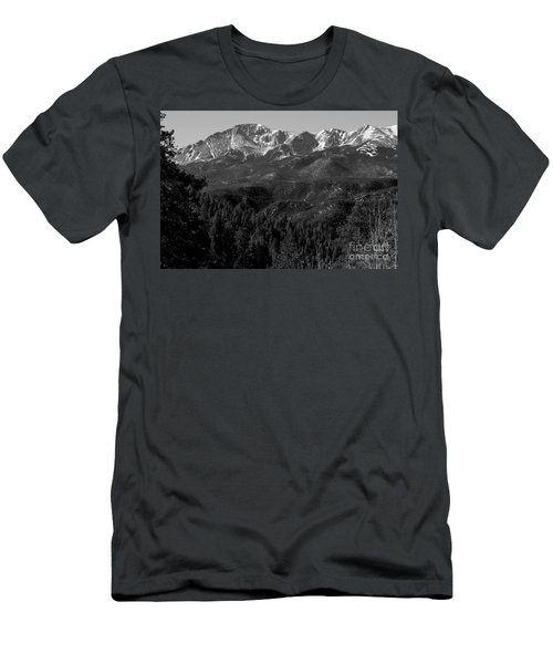 Pikes Peak Spring Men's T-Shirt (Athletic Fit)