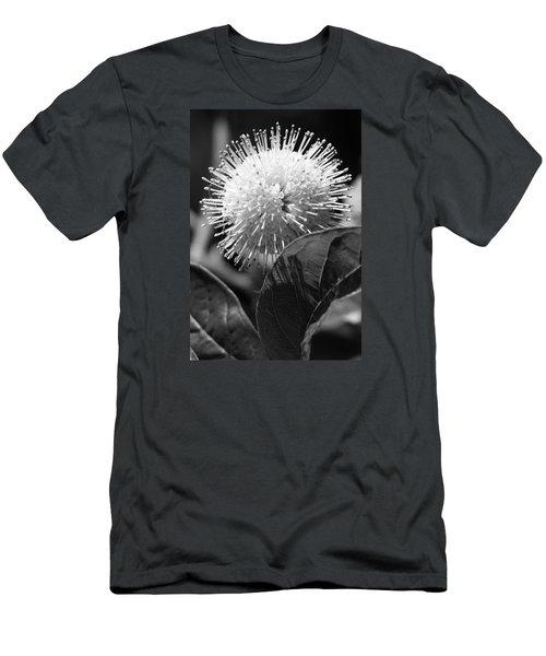 Pin Flower Men's T-Shirt (Athletic Fit)