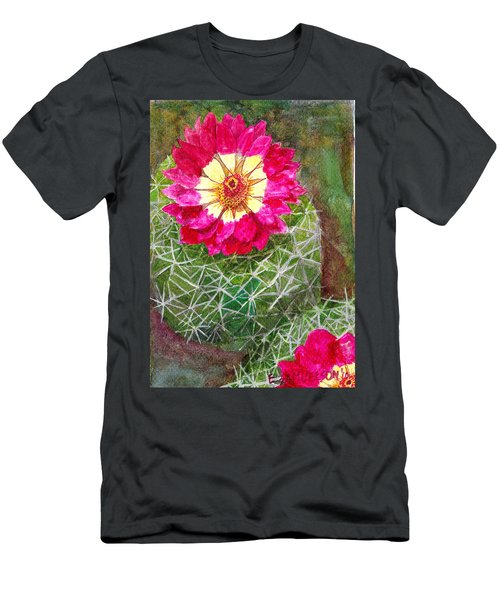 Pincushion Cactus Men's T-Shirt (Athletic Fit)