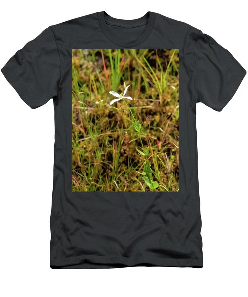 Men's T-Shirt (Athletic Fit) featuring the photograph Pine Lands Endangered Plant by Louis Dallara