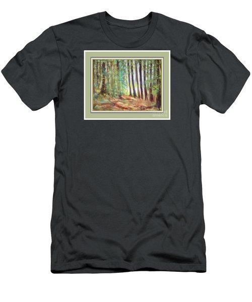 Pine Needle Path Men's T-Shirt (Athletic Fit)