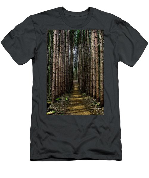 Pine Path  Men's T-Shirt (Athletic Fit)