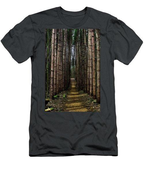 Pine Path  Men's T-Shirt (Athletic Fit)