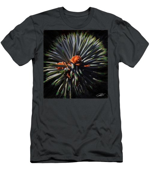Pine Rose Men's T-Shirt (Athletic Fit)
