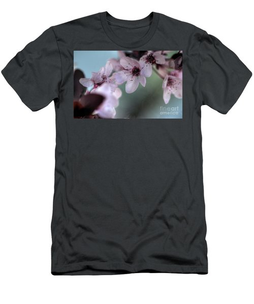 Men's T-Shirt (Slim Fit) featuring the photograph Pink Blossoms by Jim and Emily Bush
