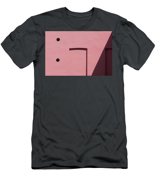 Pink Emoji Men's T-Shirt (Athletic Fit)
