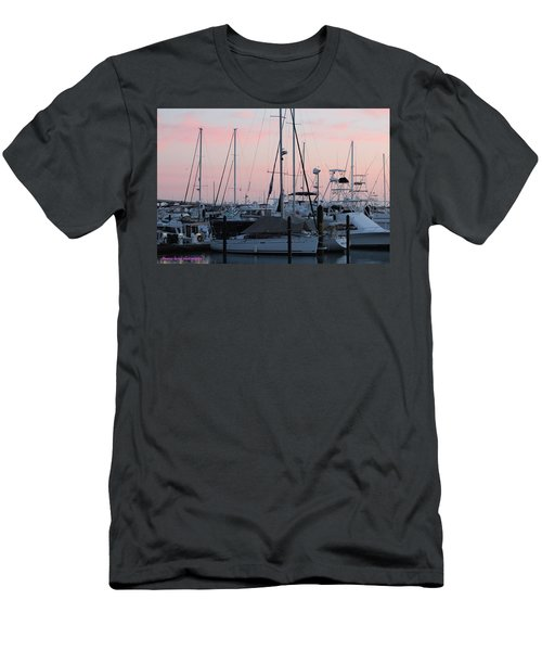 Pink Skies Men's T-Shirt (Athletic Fit)