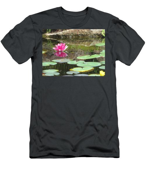 Pink Waterlilly  Men's T-Shirt (Athletic Fit)