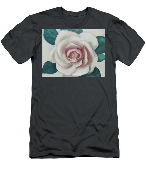 Pinky Flower Men's T-Shirt (Athletic Fit)