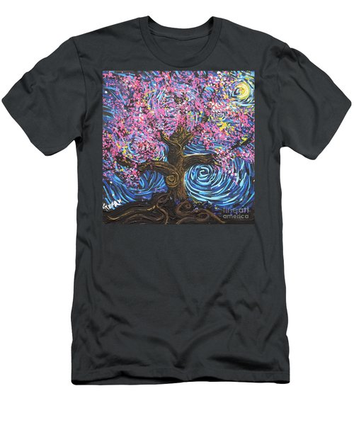 Pinky Tree Men's T-Shirt (Athletic Fit)