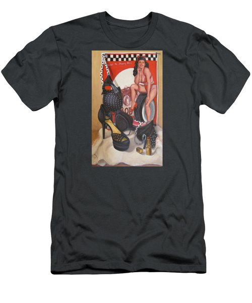 Pinup #1 Men's T-Shirt (Slim Fit) by Donelli  DiMaria