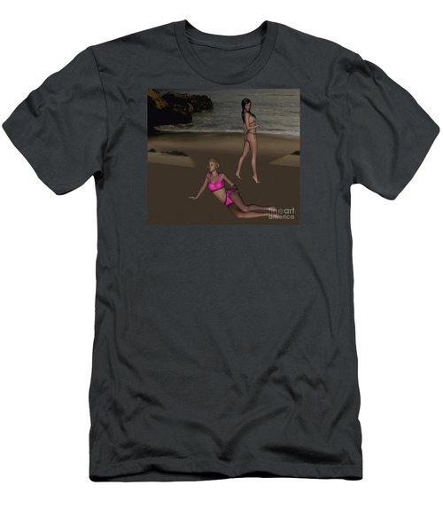 Pinups At Dusk Men's T-Shirt (Athletic Fit)