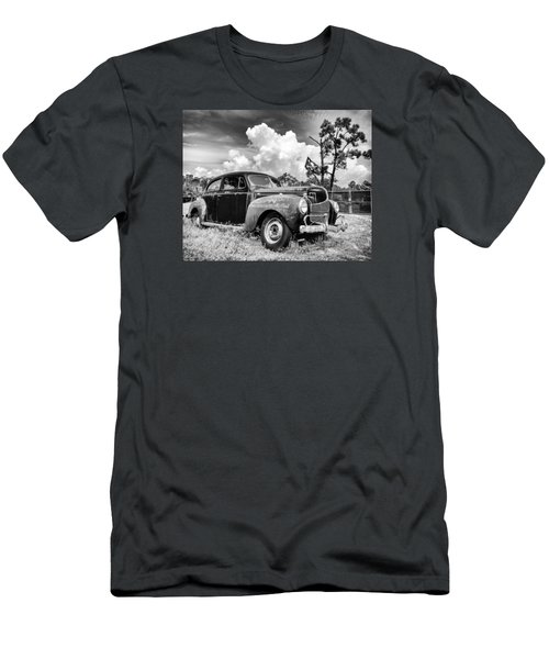 Men's T-Shirt (Slim Fit) featuring the photograph Pirate Dodge by Alan Raasch