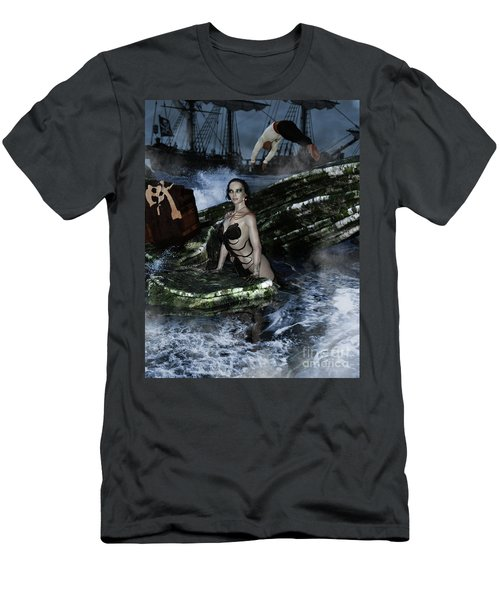 Pirate Treasue Men's T-Shirt (Athletic Fit)