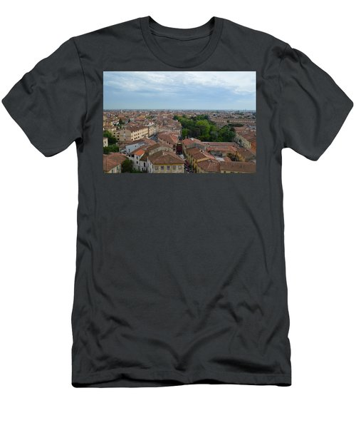 Pisa From Above Men's T-Shirt (Athletic Fit)
