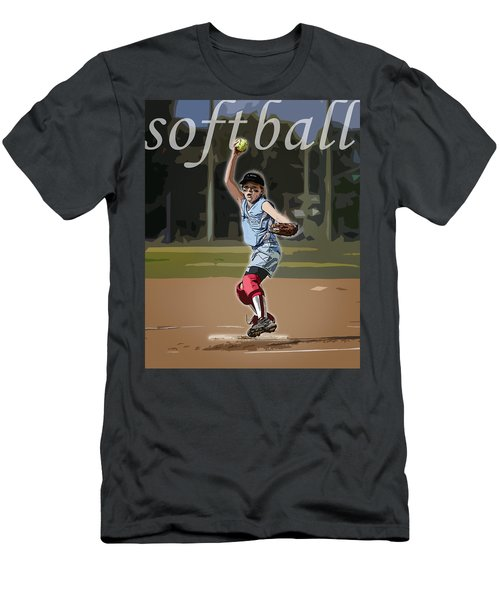 Pitcher Men's T-Shirt (Athletic Fit)