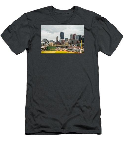 Pittsburgh/pnc Park - 6986 Men's T-Shirt (Slim Fit) by G L Sarti